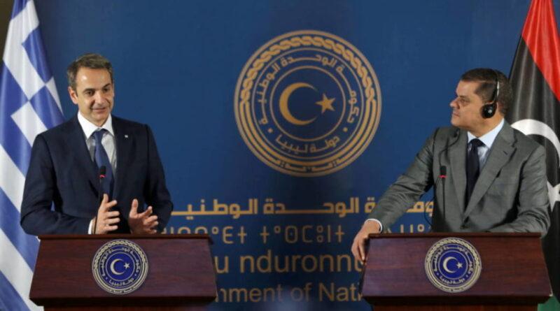 Греція і Лівія «зарили сокиру» війни