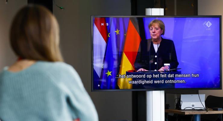 виступ Меркель