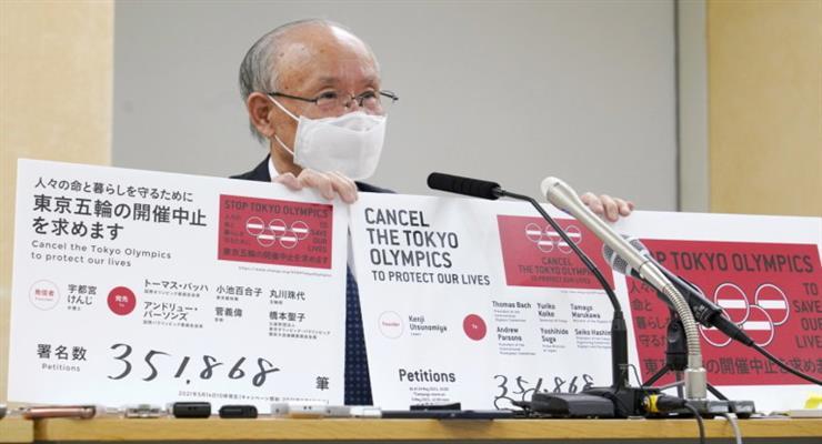 петиція про скасування Олімпійських ігор в Токіо