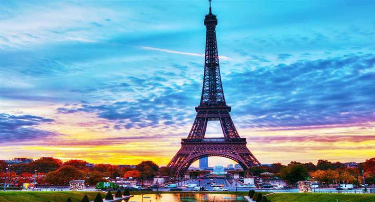 центр Парижа без автотраспорта