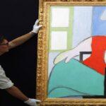 Картина Пикассо с изображением его любовницы продана за 103 миллиона долларов в Нью-Йорке