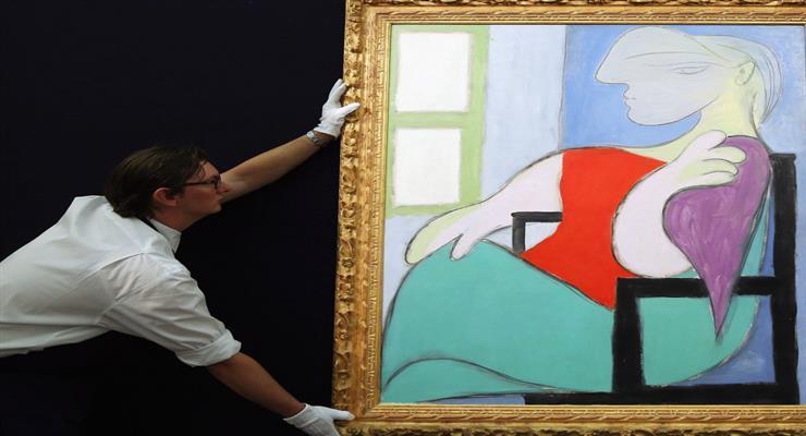 «Жінка, що сидить біля вікна» Пікассо продана