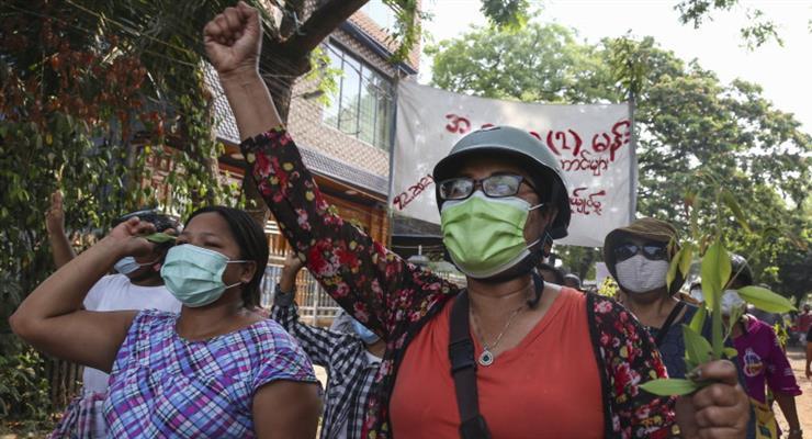 жертви протестів в М'янмі