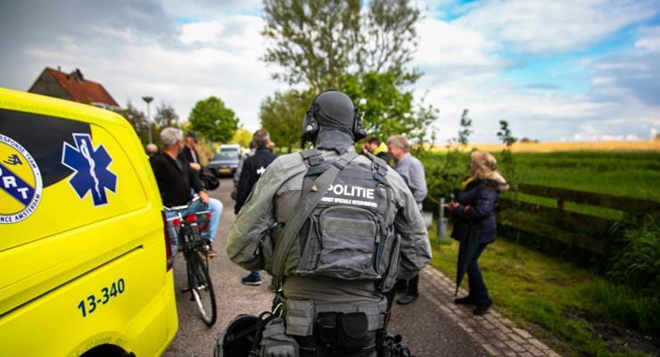 попытка ограбления в Амстердам-Норд