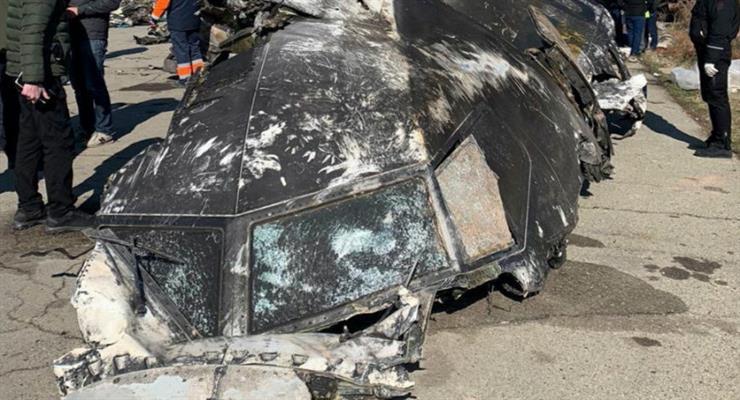 український літак був збитий терористами