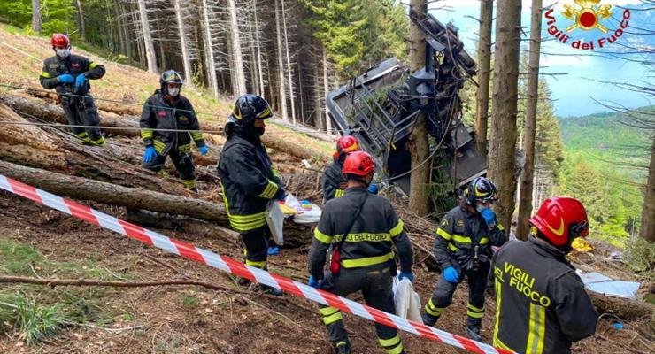 авария на канатной дороге