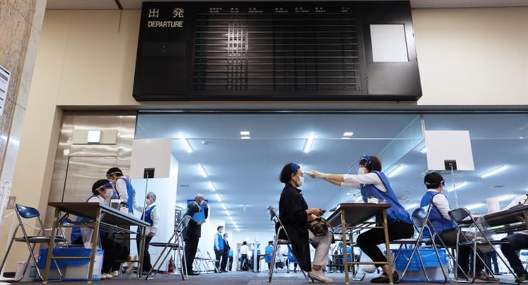 продовження блокади в Японії