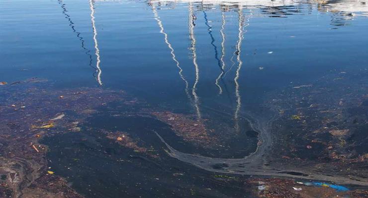 розлив нафти в Чорному морі