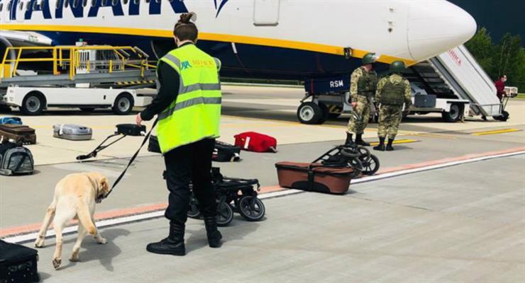 інцидент з рейсом Ryanair