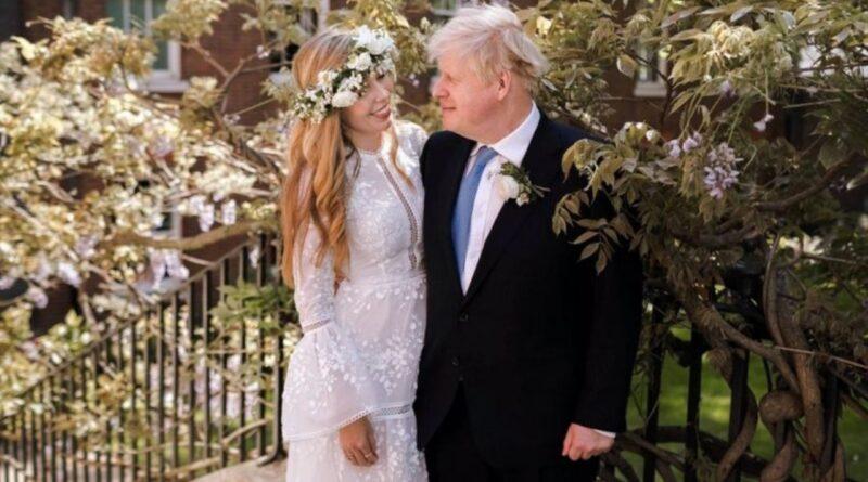 Борис Джонсон одружився на Керрі Саймондс