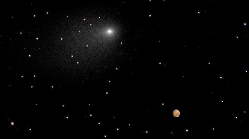 фото зоряного неба на Марсі