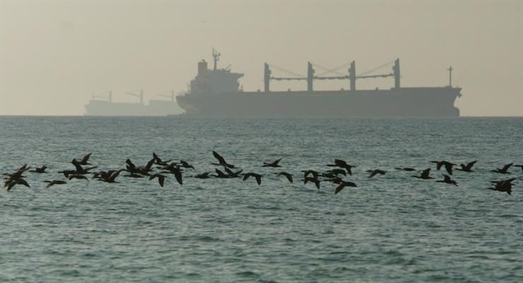 найбільший військовий корабель Ірану Harg затонув після пожежі