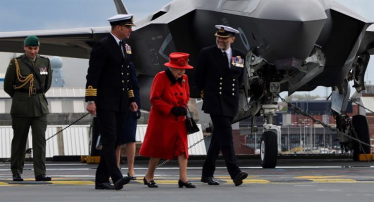 королева зустрінеться з Байденом і його дружиною