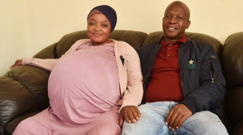женщина в ЮАР родила 10 близнецов