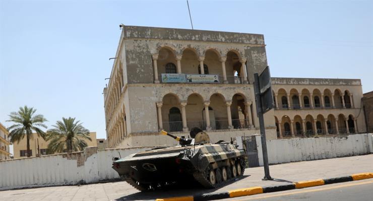 збитий безпілотник над Багдадом