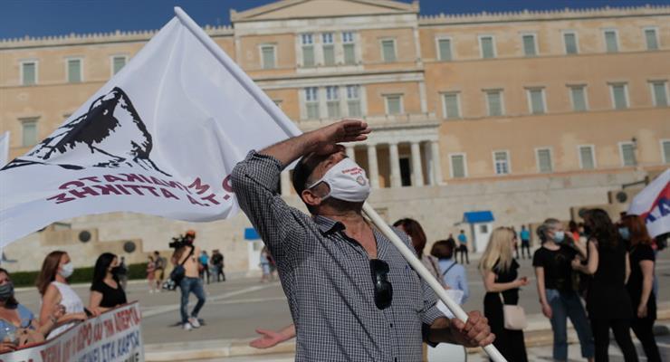 греки проти нової трудової реформи