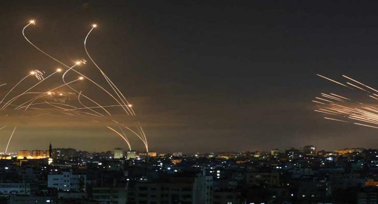 Ізраїль завдав удару у відповідь