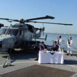 Україна і Великобританія підписали меморандум про будівництво військових кораблів і бази для київського військово-морського флоту