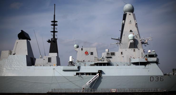 інцидент з британським есмінцем