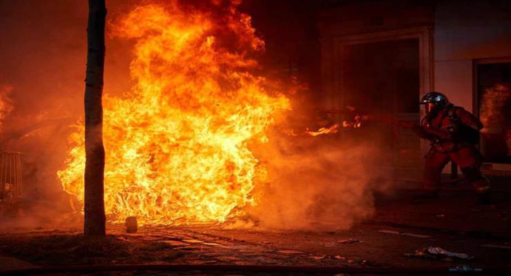 пожежа в навчальному центрі в китайському місті шанці