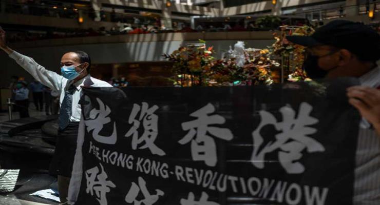 мітинги в Гонконзі заборонені поліцією