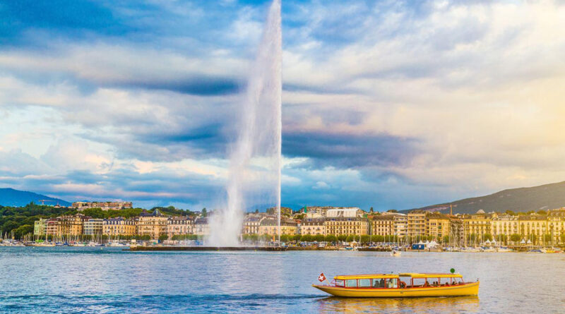 різнокольоровий фонтан