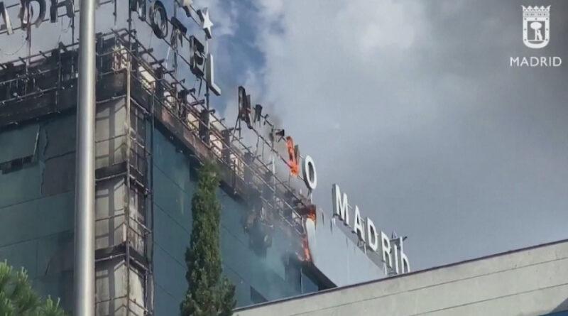 пожежа в готелі Мадрида