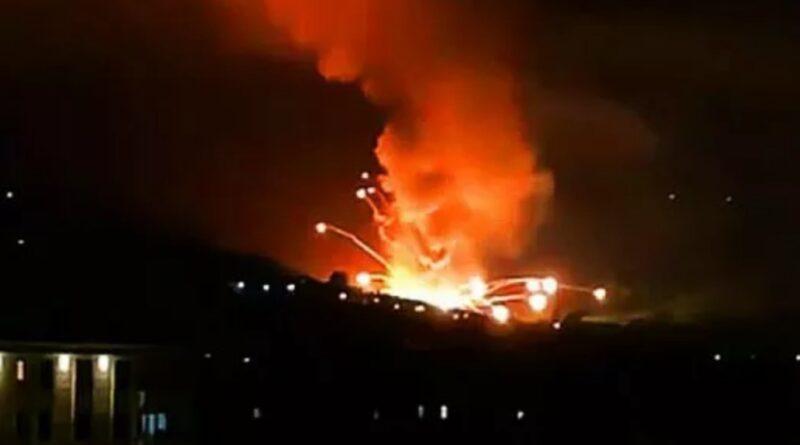 вибухи на заводі боєприпасів