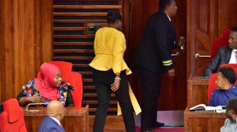 депутата видалили з парламенту через одяг