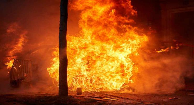 пожежа сталась у порту