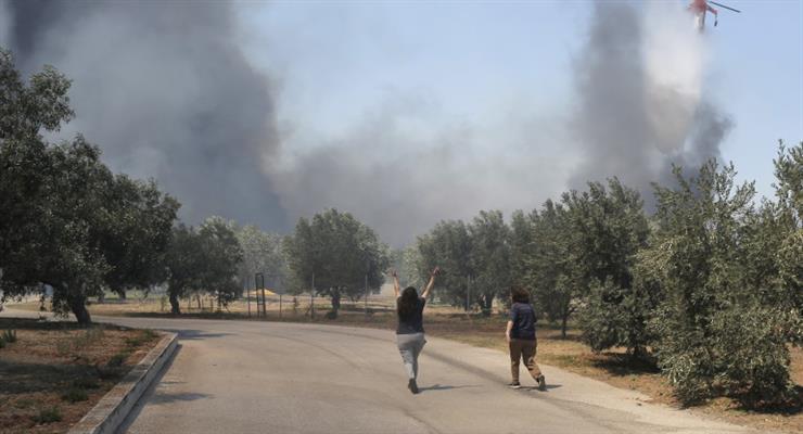 пожежі на острові Самос