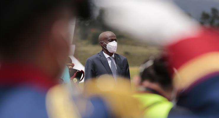 вбито президента Гаїті