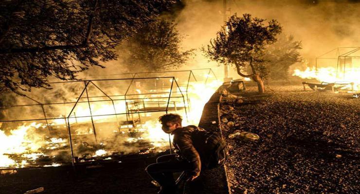 пожежа на Кіпрі