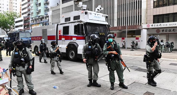 запобігання терактів в Гонконзі