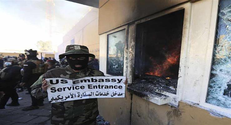 спроба нападу на посольство США в Іраку