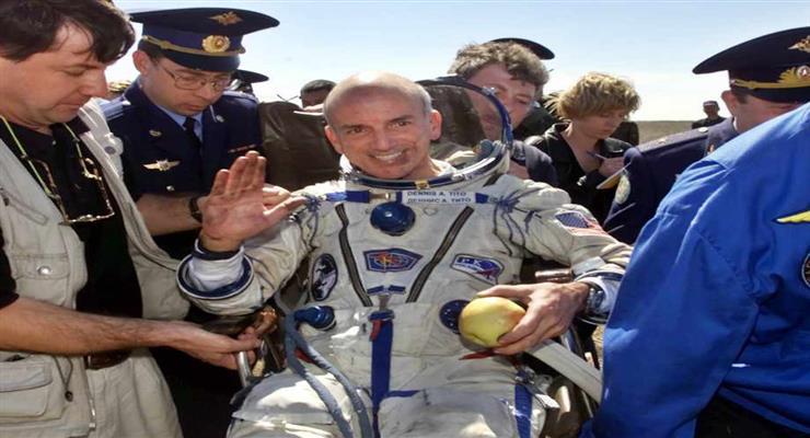 перший космічний турист