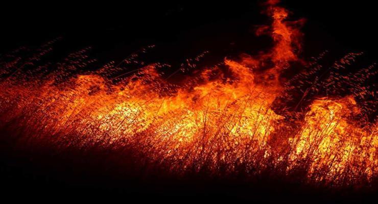 пожежа в Каталонії