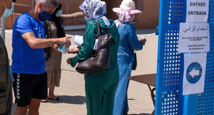 продовження НП в Марокко
