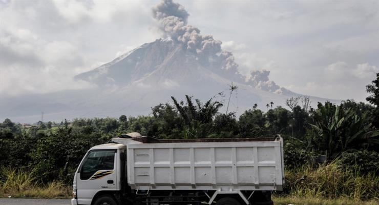 вулкан на острові Суматра