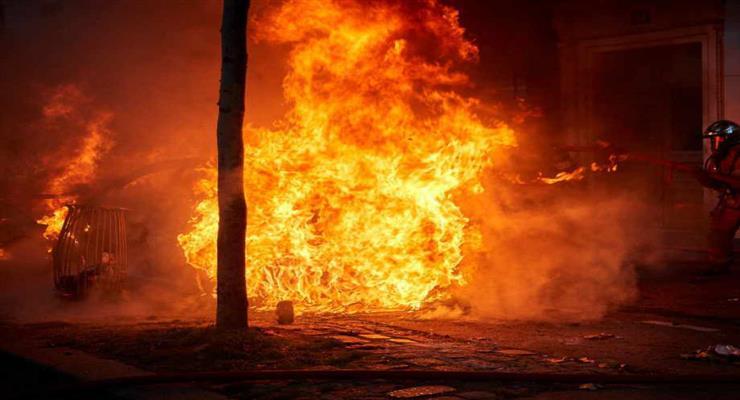 пожежа в Анталії