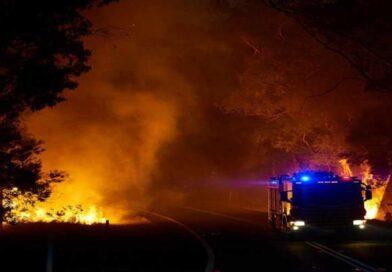 пожары на юге Турции
