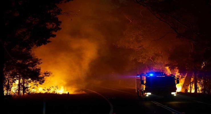 пожежі на півдні Туреччини