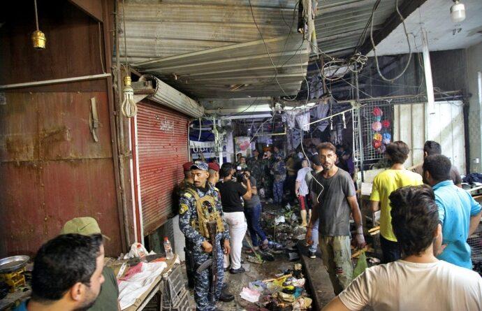 щонайменше 25 людей загинули в результаті вибуху бомби в Багдаді