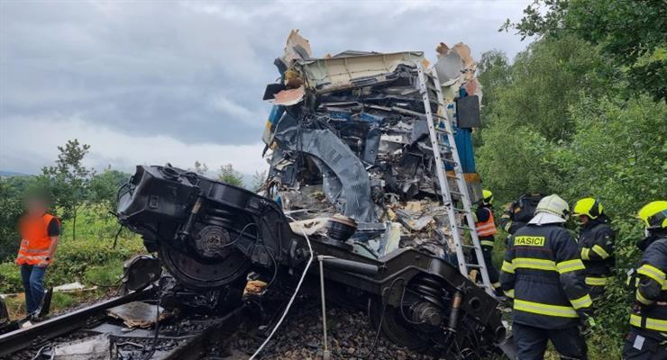 зіткнення поїздів в Чехії