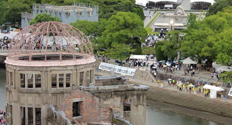 Японія вшанувала хвилиною мовчання пам'ять жертв атомного бомбардування Хіросіми