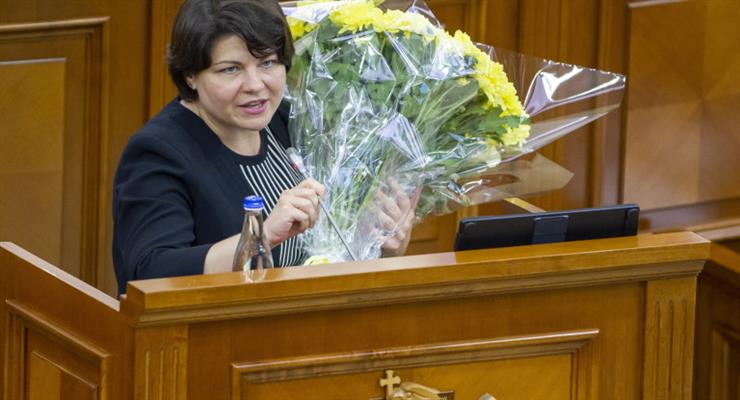 женщина возглавляет новое правительство Молдовы