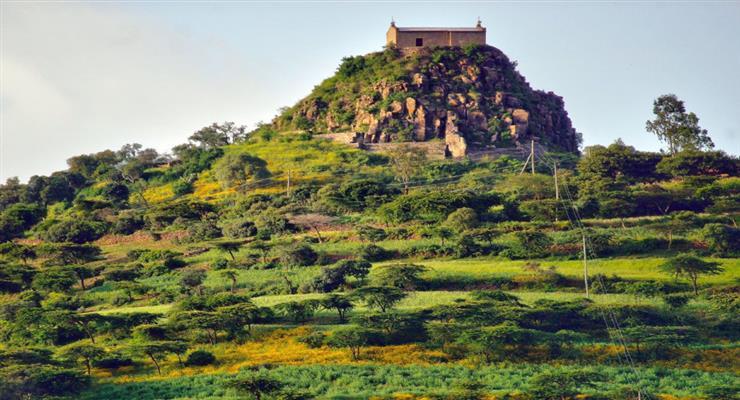 місто Лалібела внесений до списку всесвітньої спадщини ЮНЕСКО