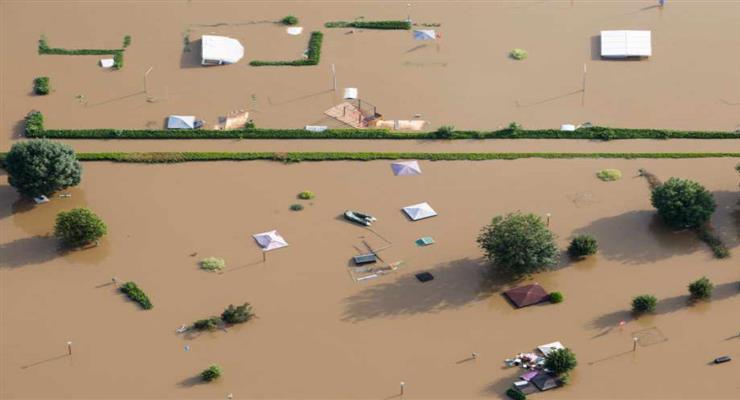 збитки від повені в Китаї