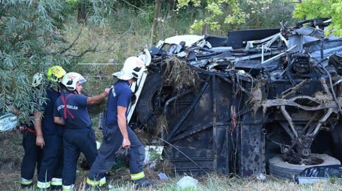 аварія автобуса під Будапештом