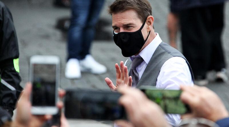 Тома Круза ограбили на съемках фильма